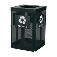 Onyx Waste/Recycling Receptacle