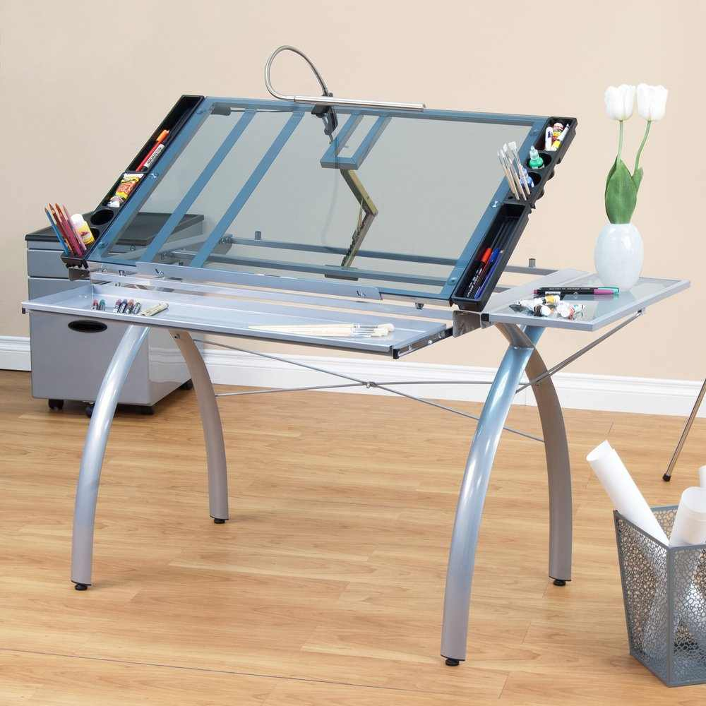Studio Designs Futura Craft Station With Folding Shelf