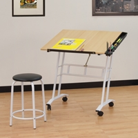 Studio Craft Center Drafting Furniture, Drafting Tables and Drawing Boards, Craft and Hobby Tables, drawing table