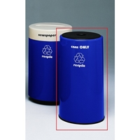 Fiberglass Can Recycling Container