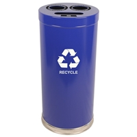 Metal Recycling Container - 24 Gallon
