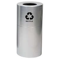 Large Aluminum Indoor Recycling Container