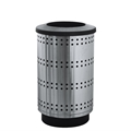 Paramount 55 Gallon Stainless Steel Waste Receptacle
