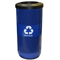 20 Gallon Round Recycling Container