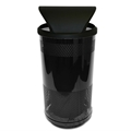Stadium Series 35 Gallon Hood Top Waste Receptacle