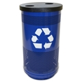 35 Gallon Flat-Top Recycling Container