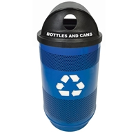 55 Gallon Perforated Recycling Container