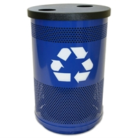 55 Gallon Flat-Top Recycling Container