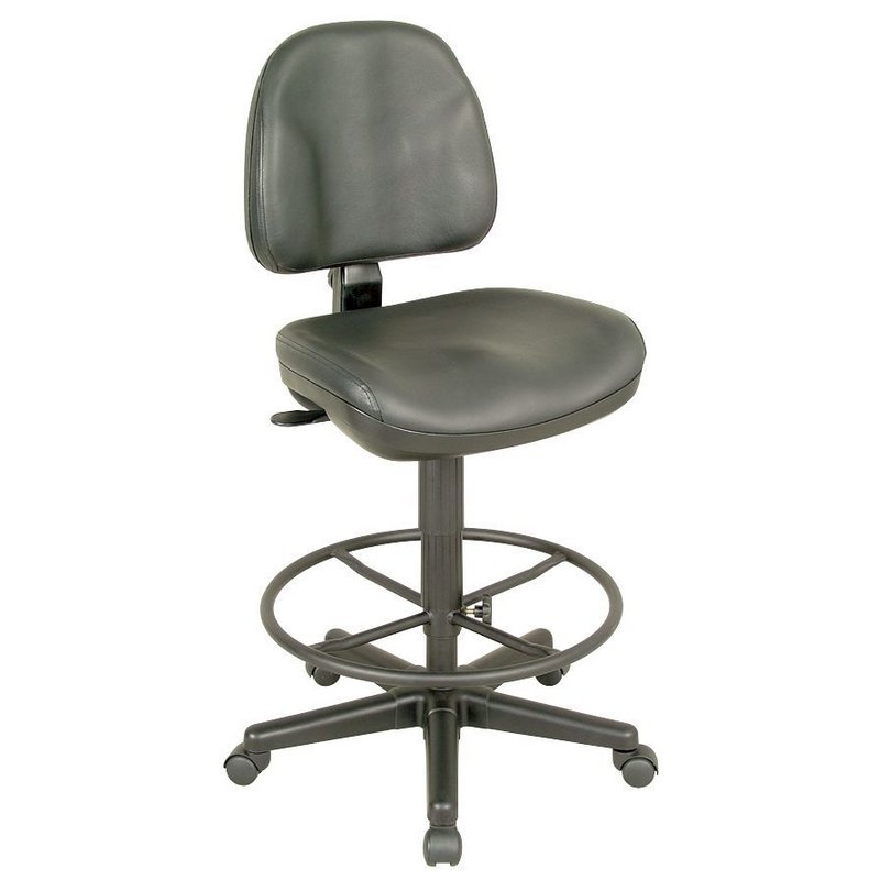 CH444 90DH : Alvin Premo Ergonomic Office/Task Chair Drafting Height