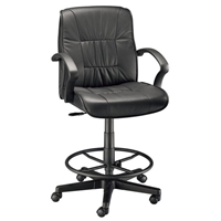 CH777-90DH : Alvin Art Director Leather Drafting Chair