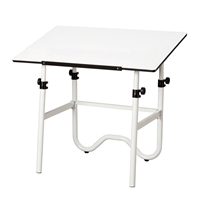 "ONX40-4 : Alvin 28"" x 42"" Onyx Drafting Table"
