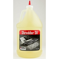 Shredder Oil - (4) 1 Gallon Bottles Shredders