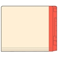 Letter Color Stripe Super Coder File Folders