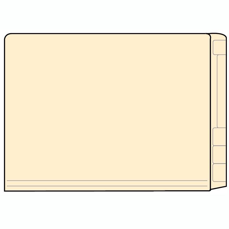Mini Half Folder Pack Of 100