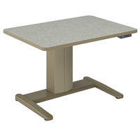 "E-Series 42"" x 30"" Adjustable Height Desk"