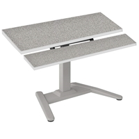 "LT-Series 36"" x 30"" Dual Surface Adjustable Height Desk"