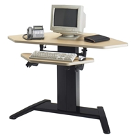 "E-Series 48"" x 30"" Corner Dual Surface Adjustable Height Workstation"