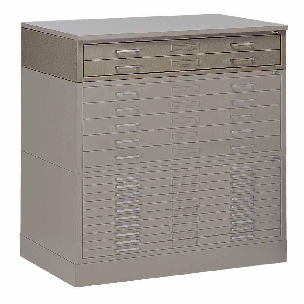7764  Mayline Two-Drawer Interlocking Plan File for 24  x 36  Media  sc 1 st  DEW Office Furniture & Mayline Two-Drawer Interlocking Plan File for 24