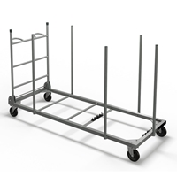 "Rectangular Table Cart for 30"" Tables"