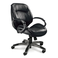 Ultimo 100 Mid Back Leather Chair