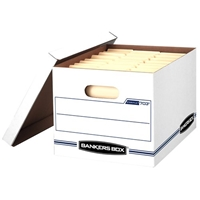Stor-File Storage Boxes - LETTER/LEGAL, Carton of 12