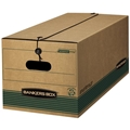 Recycled Stor-File Storage Boxes - LEGAL, Carton of 12