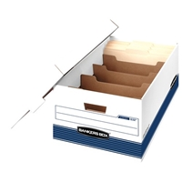 Stor-File Dividerbox Storage Boxes - LEGAL, Carton of 12