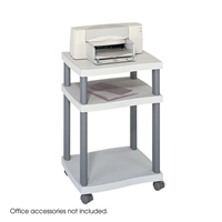 1860GR : Safco Wave Desk Side Printer Stand