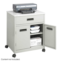 1870GR : Safco Machine Stand with Drawer