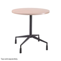 "RSVP Fixed Base 29.5"" Diameter with 4 Levelers Breakroom tables; Cafeteria tables; Hospitality tables; Lunchroom tables; Lunch room table; Meeting table; Break room table; Gathering table; Table base"