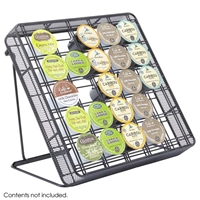 3276BL : Safco Onyx Mesh Stand-Up Hospitality Organizer