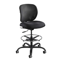 Vue Heavy Duty Stool Big and tall Chair; Big and tall office chair; Chairs for desk; Chair; seating; Black big and tall chair; Intensive use chair; Long use chair; Heavy duty chair; Heavy duty stool; Big and tall stool