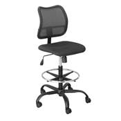 3395BL : sAFCO Vue Extended Height Mesh Back Chair
