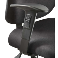 3399BL : safco Alday Adjustable T-Pad Arm Rest