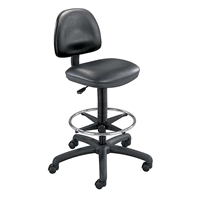 3406BL : safco Precision Drafting Chair, Color: Black Vinyl