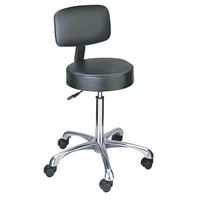 3430BL : sAFCO Lab stool Pnuematic Lift with Back