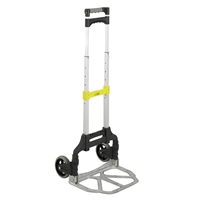 Stow and Go Cart Dolly; Folding hand truck; Folding hand cart; Hand cart; Hand truck; Mobile cart; Facility maintenance; Rolling dolly