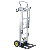 Hide-Away Convertible Truck Dolly; Hand cart; Hand truck; Mobile cart; Facility maintenance; Rolling dolly; Convertible dolly; Convertiable hand cart