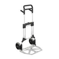 StowithAway Heavy Duty Hand Truck Dolly; Folding hand truck; Folding hand cart; Hand cart; Hand truck; Mobile cart; Facility maintenance; Rolling dolly