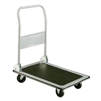 Tuff Truck Platform Truck 400 lbs. Dolly; Folding hand truck; Folding hand cart; Hand cart; Hand truck; Mobile cart; Facility maintenance; Rolling dolly