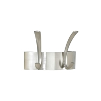 2-Hook Metal Coat Racks