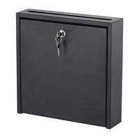 "18"" x 18"" Wall-Mounted Interoffice Mailbox"
