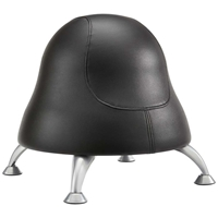 Runtz Ball Chair Vinyl Exercise ball; Seating; Ball chair; Healthy workspace; Healthy seating; Ergonomics; Movement seating; Bounce chair; Motion seating; Guest seating; Collaboration spaces; Desk chair; Posture seating; Core muscle strength; Posture chair; Excercise ball chair; Classroom seating; Alternative seating; Black vinyl ball chair; Black vinyl ergonomic chair; Black vinyl seating