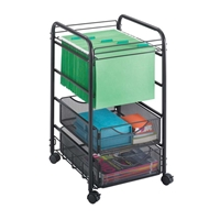 5215BL : Safco Onyx Mesh Open File with Drawers
