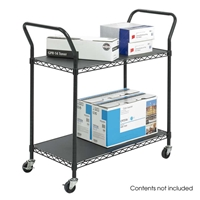 5337BL : Safco Wire Utility Cart