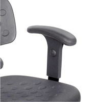 6683 : sAFCO Adjustable T-Pad Armrests, (Fits 6952 only)