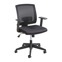 Mezzo Task Chair Chairs for office; Task chair; Chair; Seating; Black task chair; Black chair; Ergonomic chair; Swivel chair; Desk chair; Work chair; Home office chair; Home swivel chair