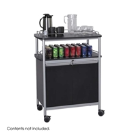 Mobile Beverage Cart Beverage cart; Refreshment cart; Cart; Service cart; Serving cart; Beverage center; Mobile beverage cart; Mobile refreshment cart; Hospitality cart; Mobile hospitality cart; Mobile service cart