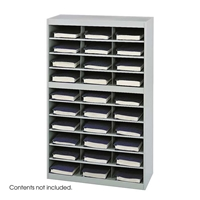 9274GR : Safco 30 Comp. E-Z Stor Steel Project Organizer