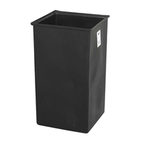 36 Gallon Plastic Liner Garbage can liner; Trash can liner; Plastic garbage can liner; Plastic trash can liner; Wsaste receptacle liner